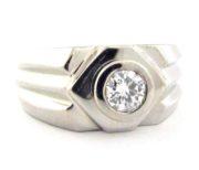 Herre diamantring GG708