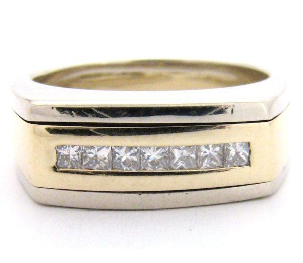 Herre diamantring GG961