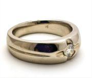 Herre diamantring GG1051