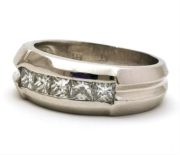 Herre diamantring GG1500
