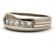 Herre diamantring GG1789