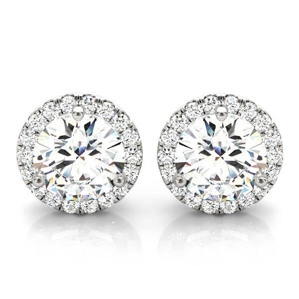 Diamantøredobber